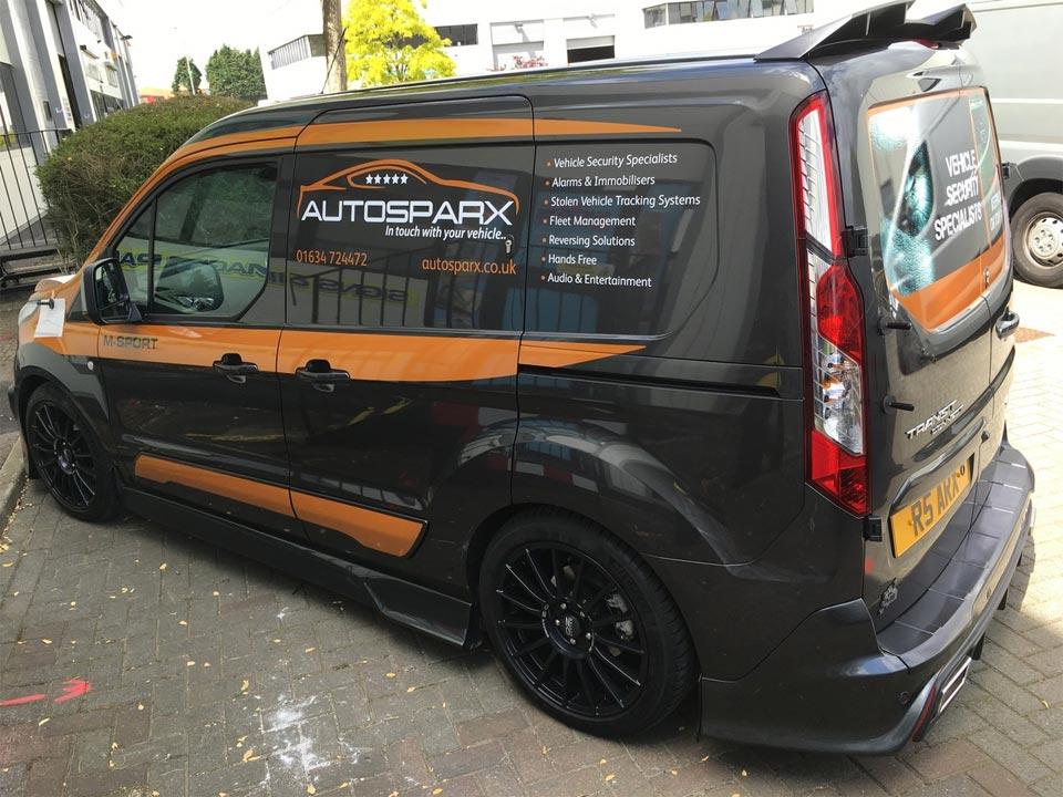 The Autosparx Mobile Electrician Van
