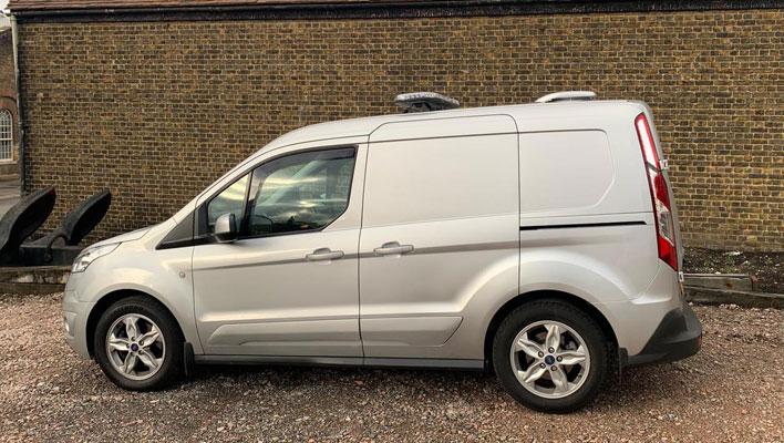 Security installed on Van